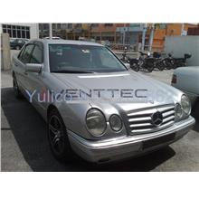 HIGH QUALITY MERCEDES W210 E-CLASS DOOR/WINDOW VISOR FOR YEAR 95'-02'