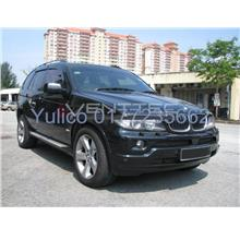 HIGH QUALITY BMW X5 (E-53) DOOR/WINDOW VISOR FOR YEAR 99'-06'