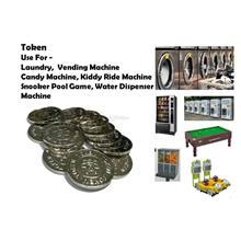 Metal Token 500pcs - Laundry/Dobi Vending Machine