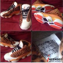 a733be298a2dd4   incendeo   - Authentic NIKE Air Jordan 13 (XIII) Leopard