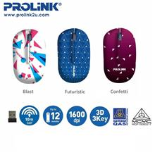 PROLiNK PMW5005 Artist Collection Wireless Optical Mouse