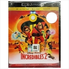 English Movie Incredible 2 4K Ultra HD+Blu-ray