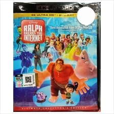 English Movie Ralph Breaks the Internet 4K Ultra HD+Blu-ray