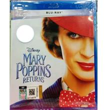 English Movie Mary Poppins Returns Blu-ray