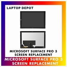 Microsoft Surface Pro 3 LCD Display Touch Screen Digitizer Replacement