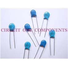 Electronic Components - 3Kv 47pF Ceramic Disc Capacitor - Each