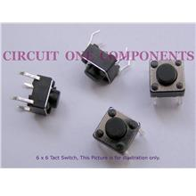 Electronic Component - 6x6x8mm Tact Switch - each