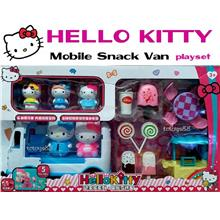 Hello Kitty Playset Hello Kitty Mobile Snack Van Ice Cream Cart Toys