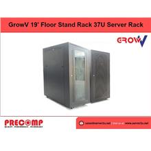 GrowV 19' Floor Stand Rack 37U Server Rack (P/G) (P/G3780FS)