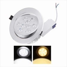 9*1W LED Recessed Ceiling Down Light Lamp Spotlight Indoor for Home Living Roo