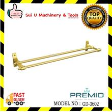 PREMIO GD-3602 Double Towel Bar 86.5MM