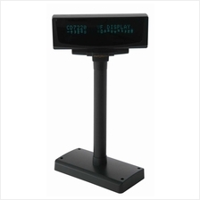 Partner Tech 2x20 VFD Pole Display, - RS232