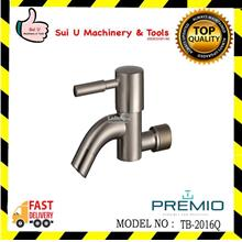 PREMIO TB-2016Q Matt Finished Wall Bib Tap Quatour Series
