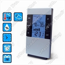 XS2303 Weather Station Hygrometer Thermometer Alarm Clock Calendar