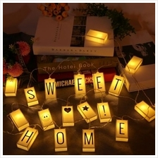 20 LED Letters Light Box String (WARM WHITE)