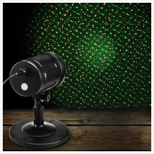 Waterproof Red Green Moving Twinkle Laser Light Remote Control