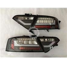 Audi A5 08-12 Led TAil Lamp Black Taiwan