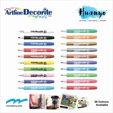 Artline Decorite Multi Surface Marker - Chisel Flat Tip (3.0MM)