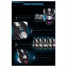 ZERODATE X300 Programmable Wired Gaming Mouse - ZERODATE X300 Professi  :  Best Price in Malaysia