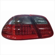 DEPO Mercedes CLK W208 '98-02 LED Tail Lamp Smoke-Red / Clear-Red