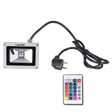 LIGHTME AC 85 - 265V 5W LED FLOOD LIGHT (WHITE GREY)