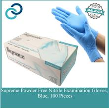 Disposable Nitrile Exam Glove Blue