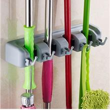 Home Storage & Organization - Household Multi-function Mop Rack With H..
