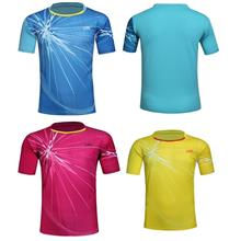 Men Women Sports Badminton running fast dry light weight t-shirt 6166
