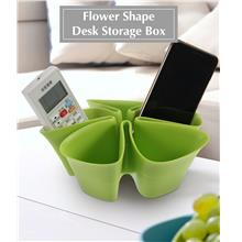 Storage Boxes - Creative Flower Shape Desk Storage Box - Home Storage ..