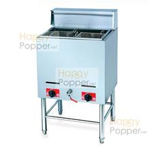 Commercial fully stainless steel deep fryer 30L single gas