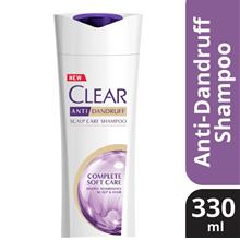 CLEAR AntiDandruff Complete Soft Care Shampoo 330ml