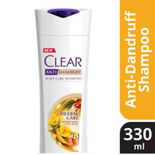 CLEAR AntiDandruff Herbal Care Shampoo 330ml