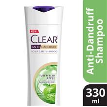 CLEAR AntiDandruff Superfresh Apple Shampoo 330ml
