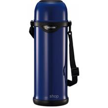 Zojirushi 1.0L Stainless Steel Bottle with Cup (Blue) - SJ-TG-10-AA