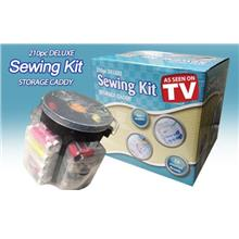 210 pcs Deluxe Sewing Kit Storage Caddy