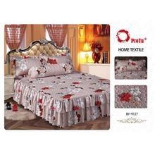 Cadar Patchwork 4in1 Bedding Set with Frills BY-9127