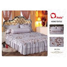 Cadar Patchwork 4in1 Bedding Set with Frills BY-9126