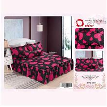 Cadar Patchwork 4in1 Bedding Set with Frills BYFZ-8201