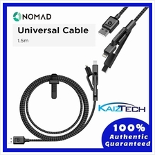 Original Nomad Ultra Rugged-Universal Cable 1.5m 5ft - Lightning,TypeC