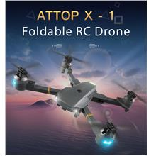 Rc Quadcopters - Rc Drone ( Battery Included ) - ATTOP Xt - 1 Foldable..