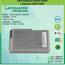 DELL Inspiron 500M 600M Latitude D500 D600 Laptop Battery K9726 KD552