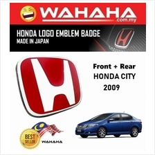 Honda City 2009 Front and Back Red H EMBLEM Badge Logo (1 Pair)