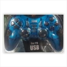 XON DUALSHOCK CONTROLLER FOR PC (BLUE)