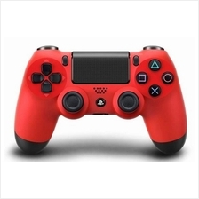 SONY DUALSHOCK 4 WIRELESS CONTROLLER FOR PC AND PS4 SYSTEM (RED)