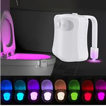 Bathroom Lighting - 8 Color Change Toilet Light LED Night Light Body S