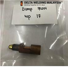 Tig dump iron welding Malaysia  wp17 torch spare part