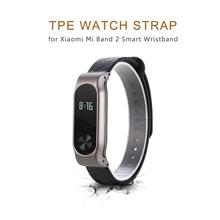 Watch Bands - 14mm Tpe Strap For Xiaomi Mi Band 2 Snap-on Back - Watch..