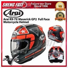 Arai RX-7X Maverick GP2 Full Face Motorcycle Helmet)