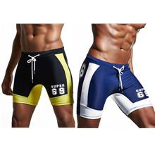 Super69 Men Swim Trunks Mid Length Seluar renang