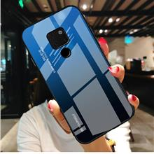 Huawei Mate 20 20 Pro Gradient Tempered Glass Case Cover
